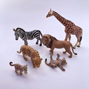 Schleich Jungle Animal Assortment of 6
